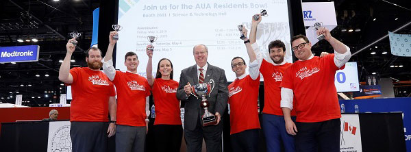 Congratulations to the AUA Northeastern Section, 2019 Residents Bowl champions!
